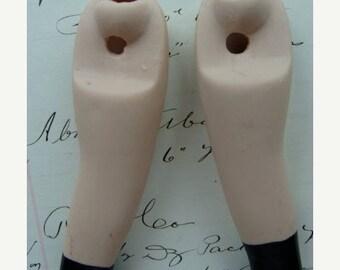 ONSALE Vintage Antique Bisque Doll Legs Unit 62