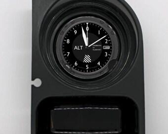 Altimeter Aviation Round Car Cupholder Coaster