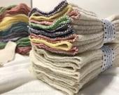 MamaBear Organic Cotton Sherpa Large Reusable Cloth Wipes - Set of 10