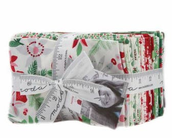 SUMMER SALE - Merry Merry - Fat Eighths Bundle (27) - Kate Spain for Moda Fabric