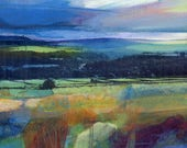 Stormy Sky Over Stoodley - Limited Edition Print on Archival Paper ( Size 2 )