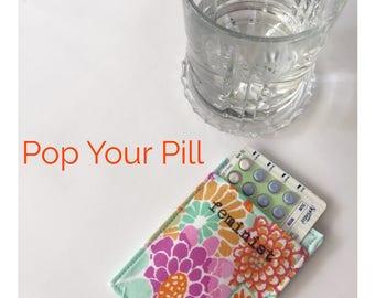 Feminist Birth Control Pill Case, Witty Birth Control Pill Cozy, Woman Gift under 20