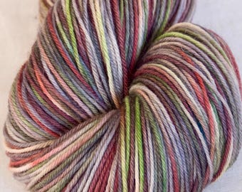 Hand dyed yarn, SW Merino, 100g, Knitting yarn,hand dyed, mitts, fingering yarn, knitting projects, hats, SW sock yarn, shawl, sock yarn