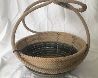 DX Lariat Rope Basket