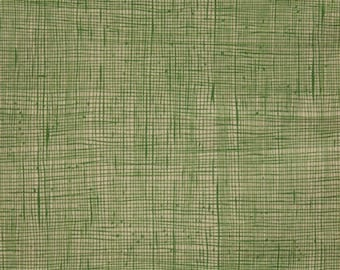 Green Tea Heath Print from Alexander Henry sold in 1/2 yard increments