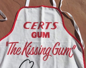 40% OFF The Vintage Cotton Certs Kissing Gum White Apron