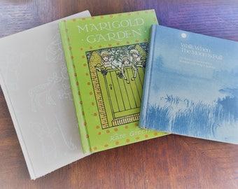 Trio of Vintage Kids Books
