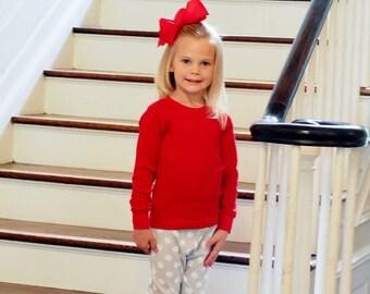 Christmas Pajamas Organic Cotton  Cousins Sibbling  Boy Girl  gray and white or Christmas Plaid Family photo for Christmas Card