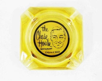 Vintage Ashtray from: The Chase House. Circa 1950's - 1960's.