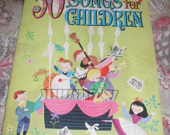 Whitman - A Collection of 50 Songs for Children  - 1964 - Book