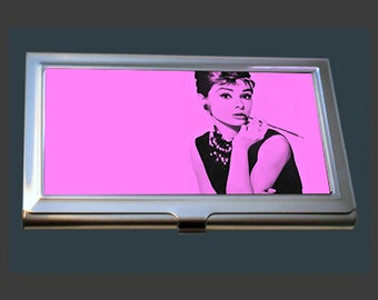 Business Card Case - Audrey Hepburn - So very chic!.