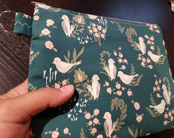 Sweet Birds Handbag /Cosmetic Bag