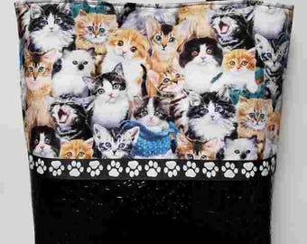 Multi Cats Purse