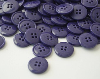"""5/8"""" Purple Grape Sew Thru Buttons - YOU PICK QTY - 25 - 225 - See Shop Announcement for 60% off"""