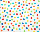 Timeless Treasures Sketch Dot Brite Cotton Fabric 1/2 yard