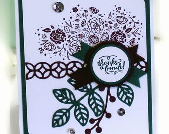 Thank You Card- Stampin' Up Thanks a Bunch Friend