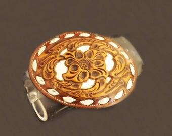 Vintage Nocona Belt Buckle, Leather Belt Buckle, Ladies Belt Buckle, Men's Belt Buckle, Belt Accessories, Western Wear, Cowboy Accessories