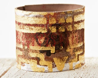 Leather Jewelry, Leather Cuffs, Leather Bracelets, Wristbands For Women
