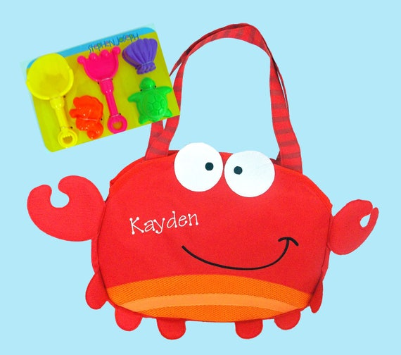 Child's Stephen Joseph LOBSTER Beach Tote/Beach Bag
