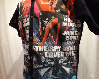 James Bond Spy Who Loved Me shirt, Choose your size up to 6X