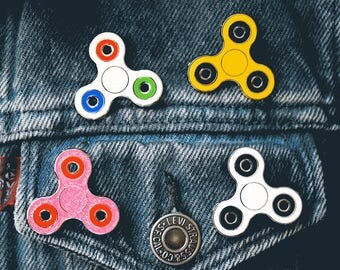 Spinner Enamel Pin — Actually Spins!