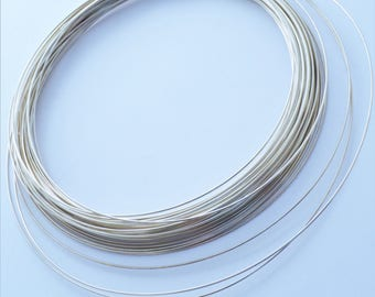 24 Gauge Square Half Hard Sterling Silver Wire 10 Feet WHOLESALE