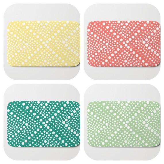 Bath Mat - Yellow Bath Mat - Green Bath Mat - Bath Rug - Coral Shower Mat - Wheel Rug - Emerald green Rug - Fern green Memory Foam Mat