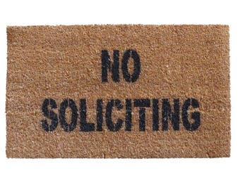 cyber monday sale no soliciting christmas hanukkah doormat funny rude geek gifts black friday