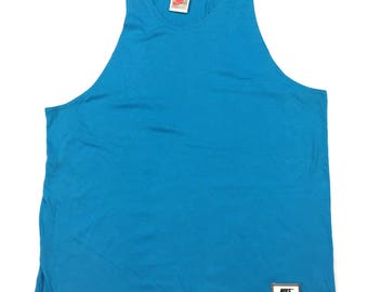 Nike gray tag tank top made in USA