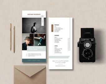 rack card design template