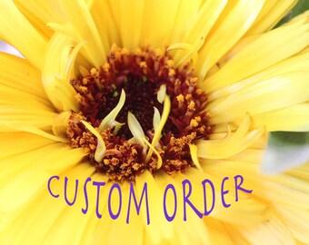 custom Order For B