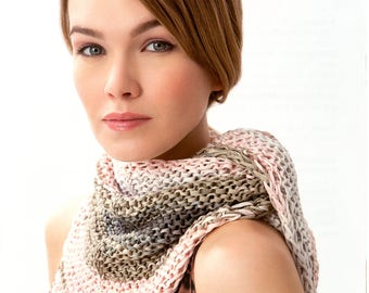 "Lana Grossa Primavera Accessories ""Store Copy"" Knitting & Crochet Pattern Leaflet Hats Cowls Scarves"
