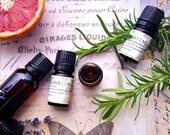 OM Essential Oil Blend. Frankincense, Sandalwood, Cabreuva. 5 ML.