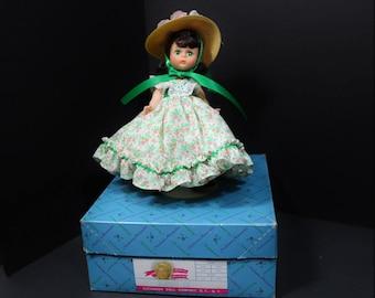 "8"" Scarlett O'Hara, Madame Alexander Doll Vintage,  Madame Alexander Dolls"