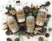 Bath Soak Sampler Gift Set // Organic // For Her // Christmas Gift