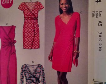 McCall's m6884 new uncut misses dress pattern
