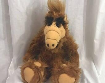Vintage Rare 1986 ALF Stuffed Plush Animal