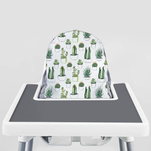 Cacti And Succulents Ikea Antilop Highchair Cover High