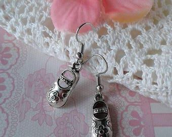 Baby Doll Shoe Earrings