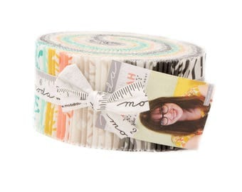 """Savannah Jelly Roll 2.5"""" strips by Gingiber for Moda - In Stock!"""