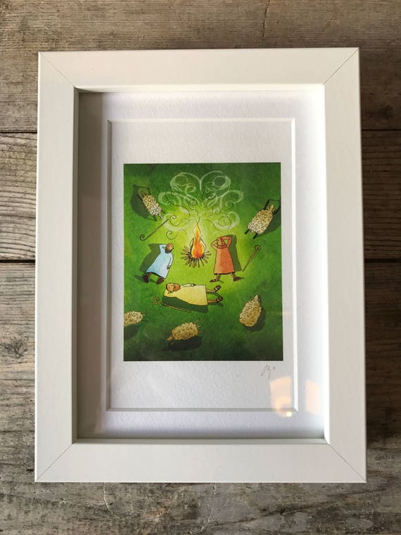 SALE! JSB Shepherds - Mini Framed Print