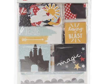 Simple Stories DISNEY Say Cheese III Snap Card Pack - 125 pieces per pack