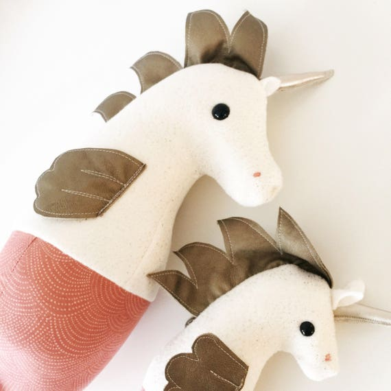 Baby Unicorn Seahorse Plush - Special Edition - Ready to Ship