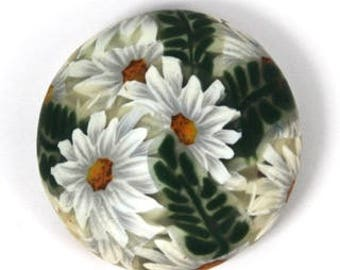 Polymer Clay Daisy, Fern, Water Drop, and Sunflower Cane Tutorial