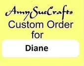 SERVED WITH LOVE: Custom Order for Diane -- Hand Stamped Gold Serving Spoon; 50th Anniversary Gift, Golden Wedding Anniversary, Married 1968