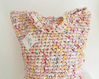 Summer Bag Beach Tote Eye Candy Rope Bag