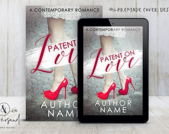 """Premade Digital eBook Book Cover Design """"Patent On Love"""" Contemporary Romance Comedy New Adult Fiction"""