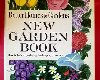 Vintage 1961 Better Homes & Gardens NEW GARDEN BOOK