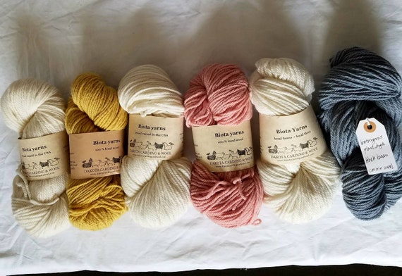 Natural Colored Wool Groton