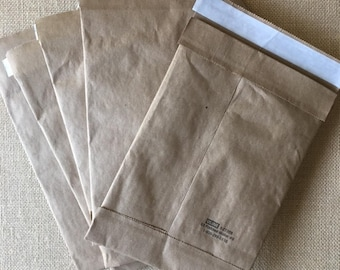 10 Eco Friendly Size #0 Recyclable 6X10 Kraft Self Sealing Padded Mailers